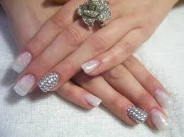 Glitter Nail Art Gallery — SVAPOP Wedding : Glitter Nail Designs