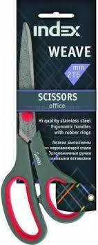 <b>Ножницы WEAVE</b>, 215мм, пластиковые ручки c резиновыми ...