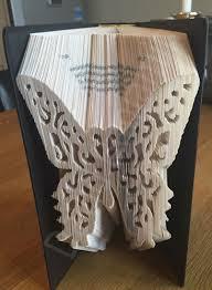 Book Folding Patterns New Elegant Butterfly Cut Fold Book Folding Pattern Cut Fold