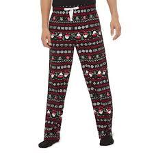 George Mens Holiday Pajama Pant