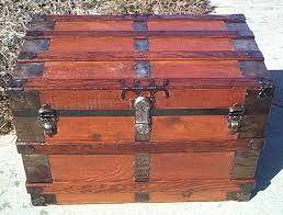 wooden chest for all wood large size flat top antique trunk wooden chest of drawers