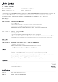 Templates Of Resumes Best of Professional Resumes Templates Fastlunchrockco