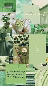 Mint green aesthetic ...