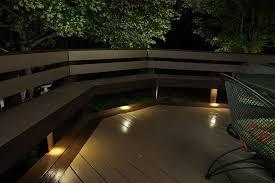 subtle lighting. Led Under Rail Deck Lighting Dekor Recessed Down Lights Provide Subtle