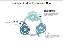 Business Structure Comparison Chart Ppt Powerpoint