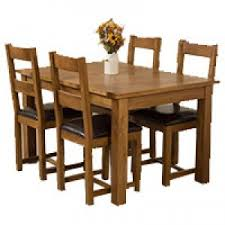 oak dining table sets uk. cotswold solid oak dining table with 4 lincoln chairs set - blank sets uk i