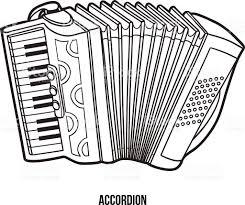 Livre De Coloriage Pour Les Enfants Instruments De Musique Accord On