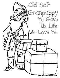 day coloring pages for grandpa