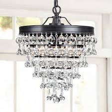 home and furniture various glass drop chandelier of celeste extra large crystal black light up