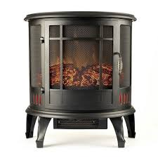 electric fireplace stove. regal flame 22 inch heater ventless curved electric fireplace stove e