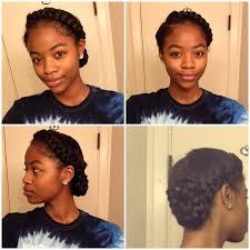 Goddess Braid 2 Braids Protective Style Side Braid Black Women
