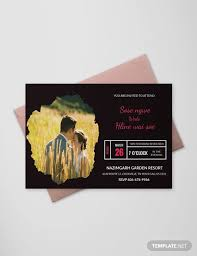 enement invitation psd designs