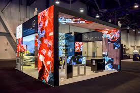 Trade Show Booth Designers China Free Standing Trade Show Backlit Exhibition Booth