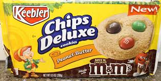 keebler cookie brands.  Brands Keebler Chips Deluxe Peanut Butter With Milk Chocolate Mu0026Mu0027s Cookies Review On Cookie Brands P