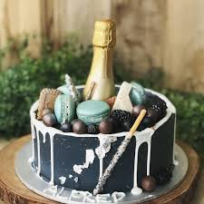 Champagne Cake 21st Birthday Cake Customised Cakes Free Delivery