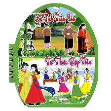 Tranh Truyện Cổ Tích Việt Nam - Sự Tích Trầu Cau - Từ Thức Gặp Tiên |  nhanvan.vn – Siêu Thị Sách & Tiện Ích Nhân Văn
