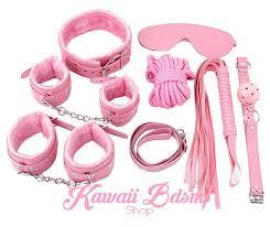 Pink Princess <b>Bondage 7Pcs Set</b> – Kawaii <b>Bdsm</b>