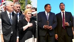 Image result for karikature plenkovic, kolinda i covic karikature