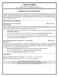 Resume Template For Administrative Assistant Free Example Of An Administrative Assistant Resume Free Resume 2