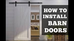 how to install barn doors a simple step by step tutorial