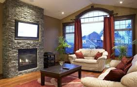 Interesting Living Room Ideas With Fireplace And Tv How To Put Over Decorate Intended Beautiful