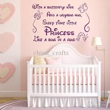 Baby Room Wall Quotes Vinyl Wall Stickers 45x60cm Nursery Wall Decals Kids  Room Wall Decor Wall Art