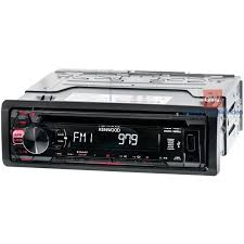 kenwood kdc 125u car stereo cd receiver with front usb Kenwood KDC Mp342u Wiring Harness at Kenwood Kdc 125u Wiring Diagram