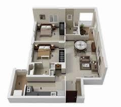 2 bedroom house floor plan 3d beautiful furniture 3 bedroom bungalow house designs stunning modern floor