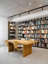 design agency office library check grandiose advertising agency offices