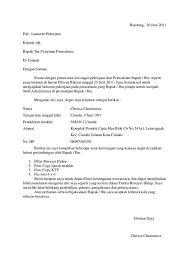 Contoh surat lamaran kerja fresh graduate yang baik, benar, singkat, menarik, simple. Contoh Surat Lamaran Kerja Bahasa Inggris Fresh Graduate Sma