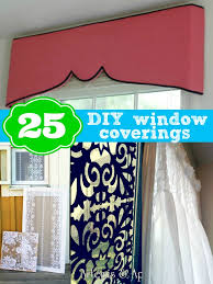 DIY Window Coverings  25 DIY window covering ideas from Remodelaholic.com # windows #curtains #shades @