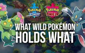Pokémon Sword & Shield: Wild Pokémon Held Items Guide