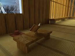 meditation room furniture. japanese meditation room 3d model max obj 3ds fbx mtl 3 furniture c
