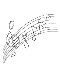 musical note coloring sheet musical note coloring pages coloring home