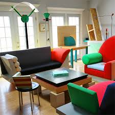 memphis style furniture. Abstract Art, Unusual Designs And Clashing Colours Were The Norm For Memphis Style. While Style Furniture T