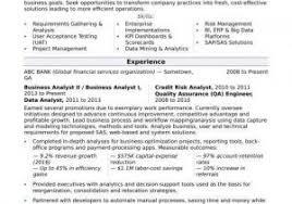 Financial Analyst Resume Summary From Senior Financial Analyst