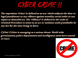 cyber crime ppt cyber crime
