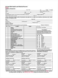 Sample Bsa Medical Form 24 Scout Health Form Samples Free Sample Example Format Download 1