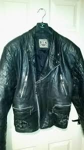 bll vintage leather motorcycle jacket