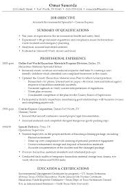 Environmental Health Specialist Sample Resume Environmental Health Specialist Sample Resume shalomhouseus 2