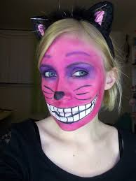 diy cheshire cat makeup tutorial