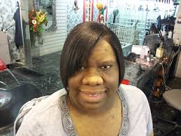 Michael S Hair Design Macomb Il Ethnic Hair Relaxer With A Blow And Press Finished With