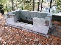 diy outdoor fire pit grill best of cinder block fire pit inexpensive and attractive ideas