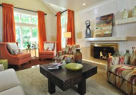 Orange Curtains For Living Room Living Room Curtains Design Ideas 2016 Small Design Ideas