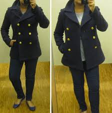 posts j crew majesty peacoat review