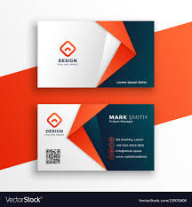 Card Design Template Professional Business Card Template Design