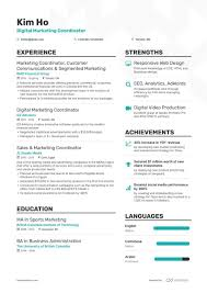 Education Coordinator Resumes Digital Marketing Coordinator Resume Samples 7 Examples