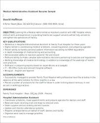 Administrative Assistant Resume Objective Resume Samples ...