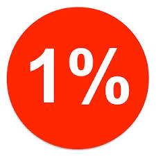 Znalezione obrazy dla zapytania 1 %