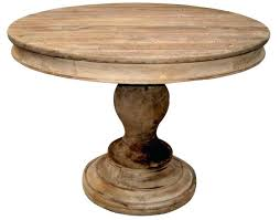 reclaimed wood round kitchen table round wood pedestal dining table trend rustic dining table on reclaimed